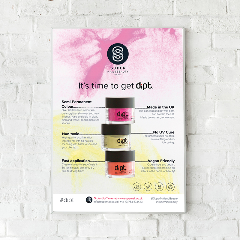 Dipt A2 Salon Poster product impression