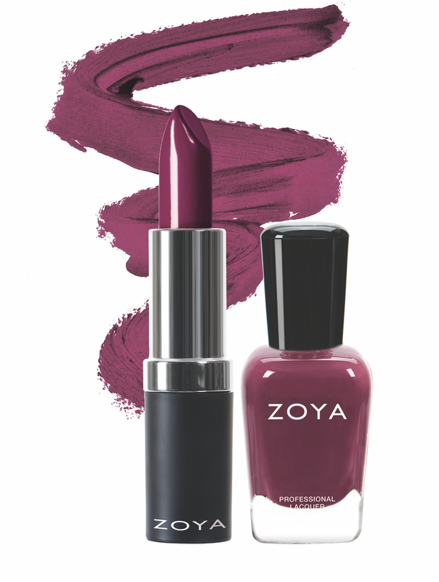 Zoya Bundle Up Lips and Tips Duo product impression