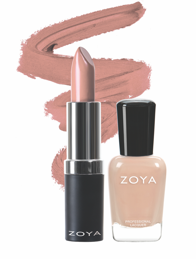 Zoya Everything Nice Lips and Tips Duo product impression
