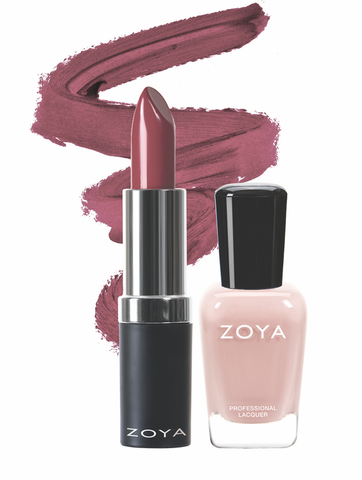 Zoya Cuddle Season Lips and Tips Duo product impression
