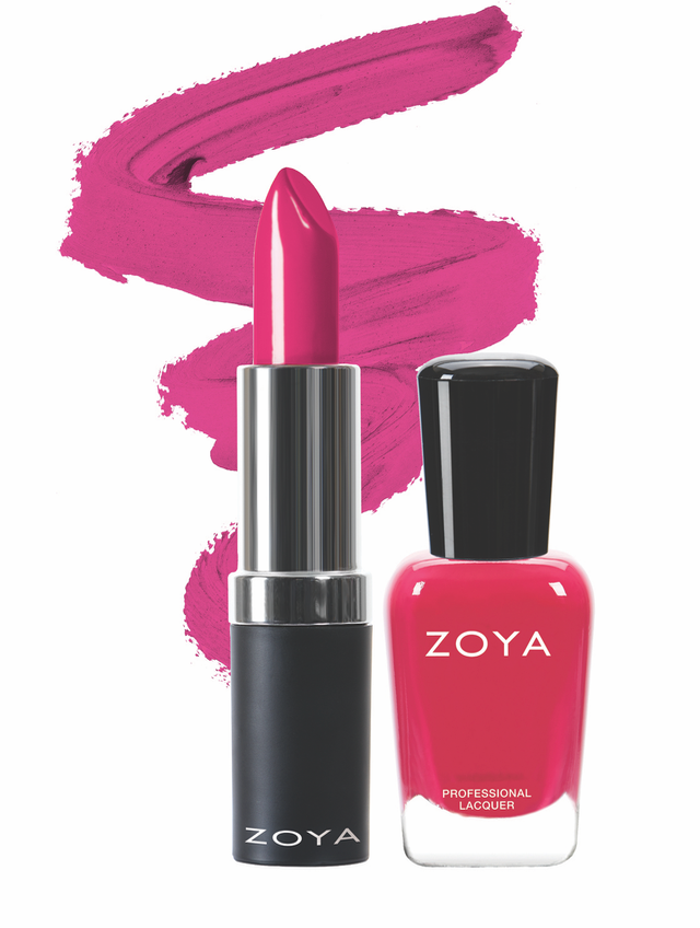 Zoya XO Lips and Tips Duo product impression