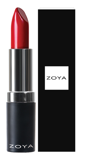 Zoya Hydrating Cream Lipstick Matte Red product impression