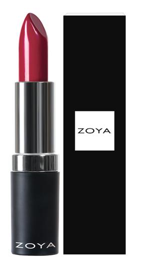 Zoya Hydrating Cream Lipstick Georgia product impression