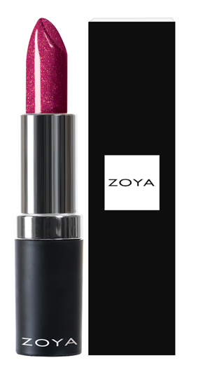 Zoya Hydrating Cream Lipstick Brooke product impression