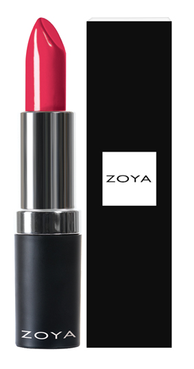 Zoya Hydrating Cream Lipstick Mellie product impression