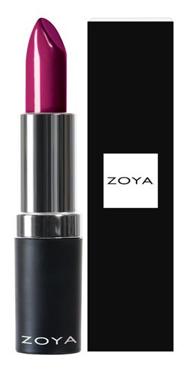 Zoya Hydrating Cream Lipstick Violette product impression