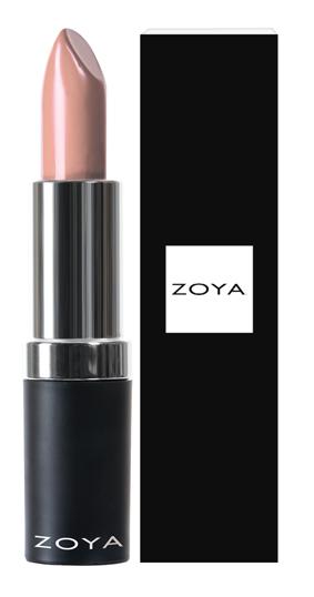 Zoya Hydrating Cream Lipstick Cameron product impression