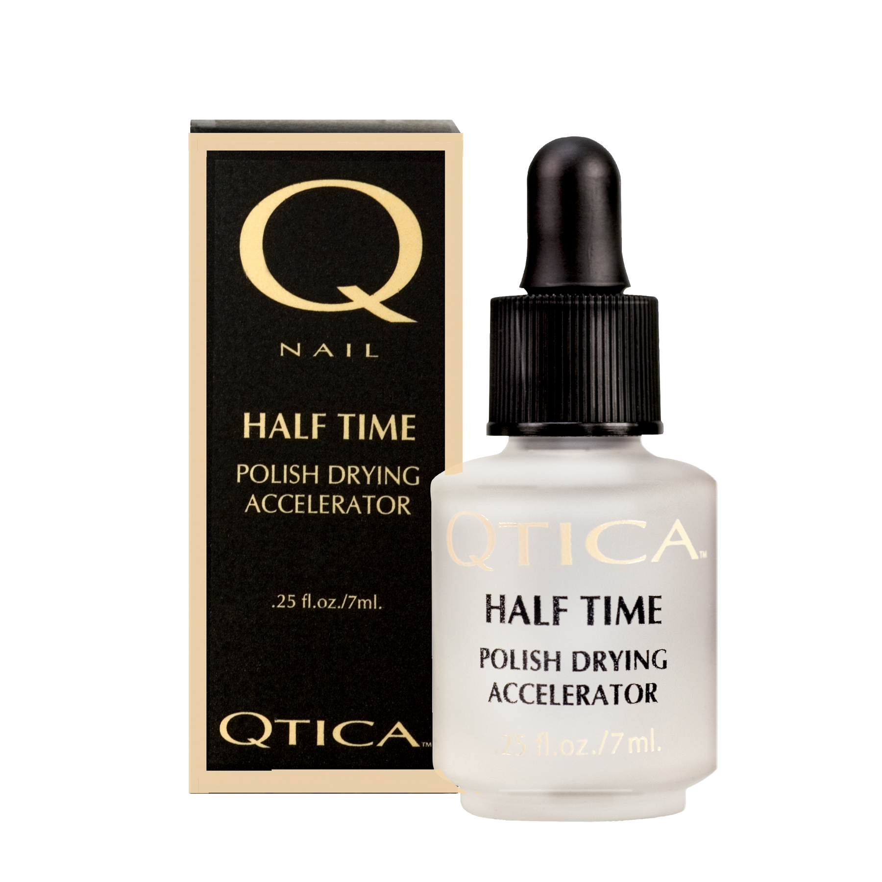 Qtica Half Time Polish Drying Accelerator 7ml product impression