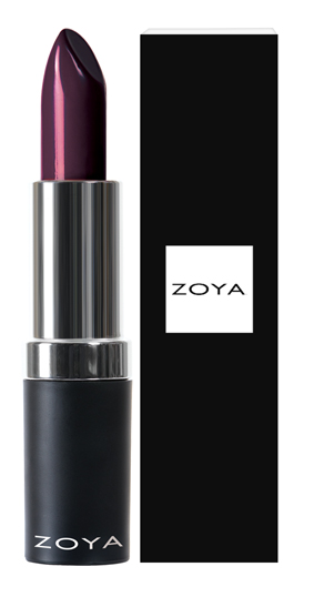 Zoya Hydrating Cream Lipstick Maxwell product impression