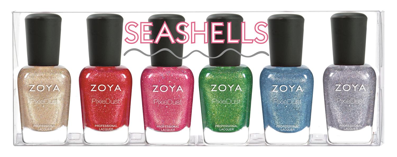 Seashells product impression
